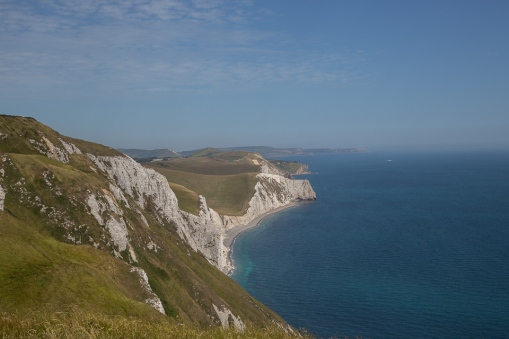 Jurassic Coast view from White Nothe, Dorset