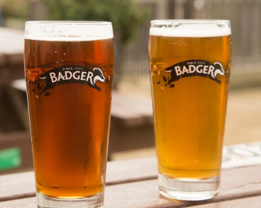 Refreshing beers at The Smugglers Inn