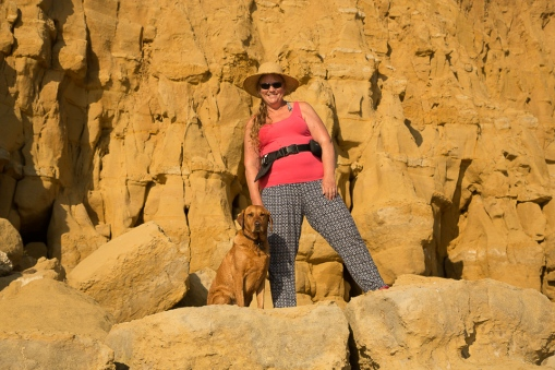 Amanda & Rusty at Burton Bradstock